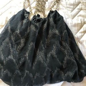 Blouse with strap (chain)